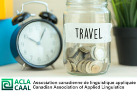 Affiche pour bourse de voyage ACLA/CAAL